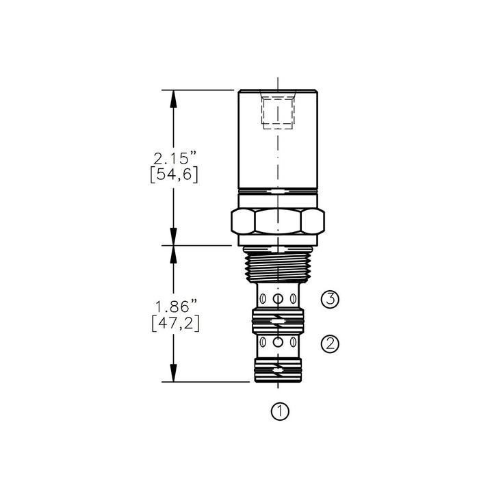 Bucher AODV-10-3B Air Operated Directional Control Valve