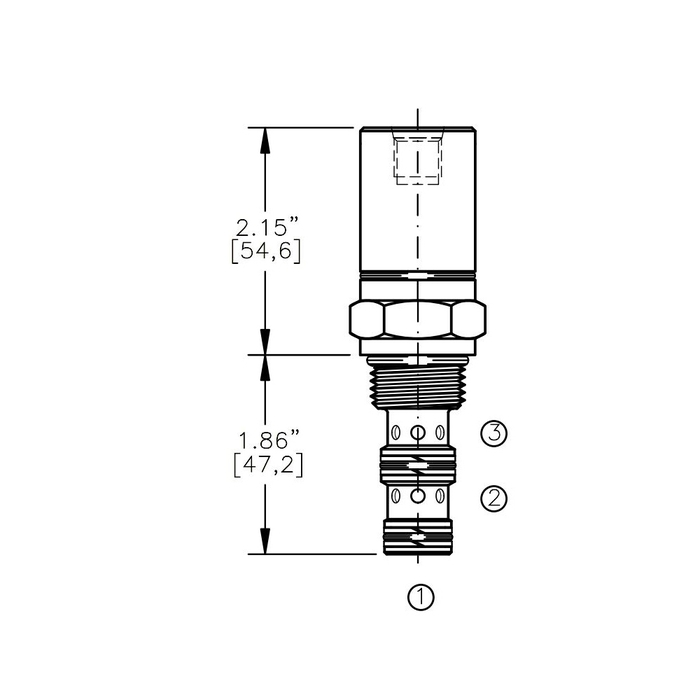 Bucher AODV-10-3C  Air Operated Directional Control Valve
