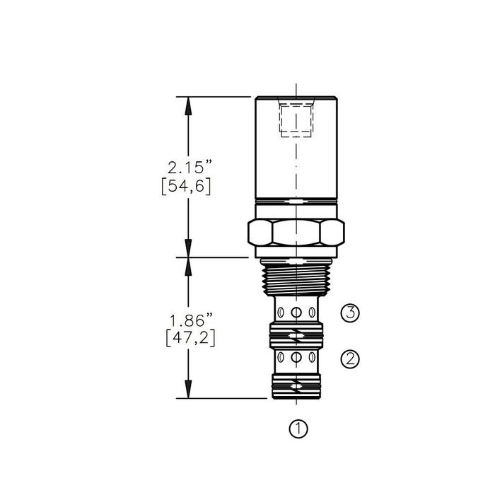 Bucher AODV-10-3D Air Operated Directional Control Valve