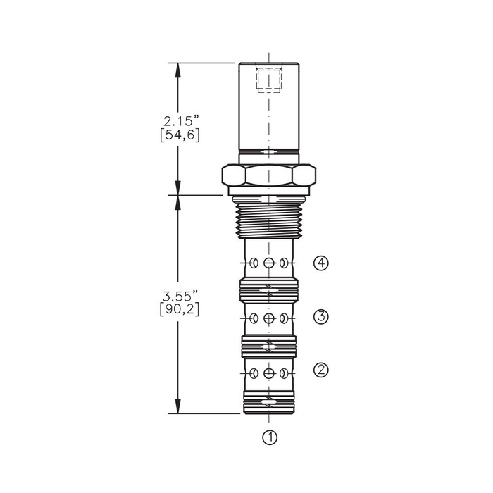 Bucher AODV-12-4A Air Operated Directional Control Valve