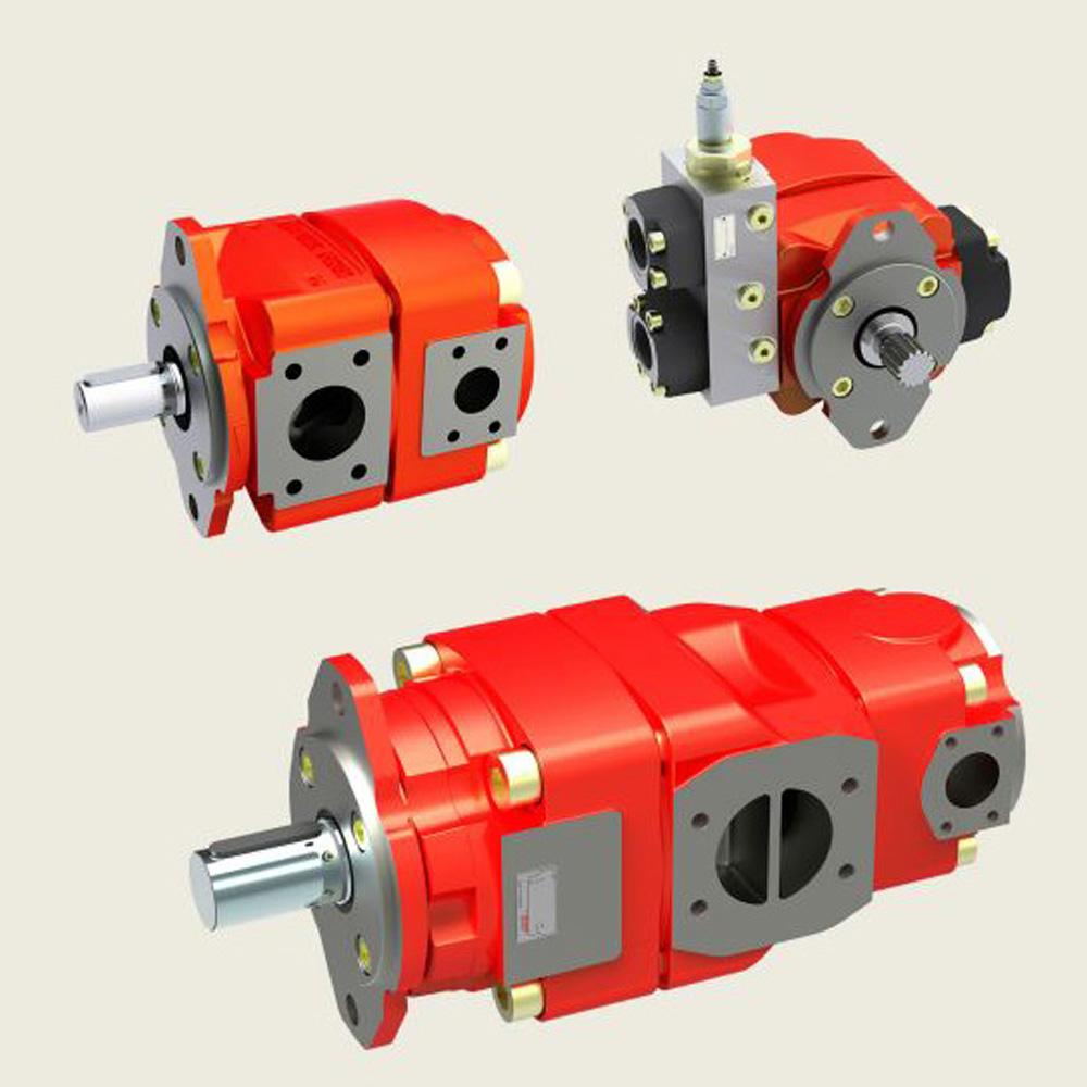 Bucher QX3 Fixed Displacement Gear Pump