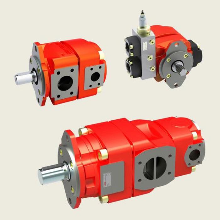 Bucher QX4 Fixed Displacement Gear Pump