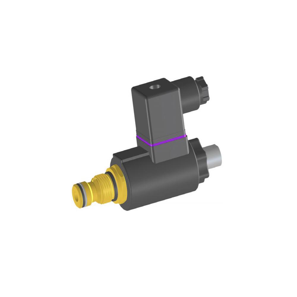Bucher DVSA-1L Proportional Pressure Relief Cartridge Valve, Size 1