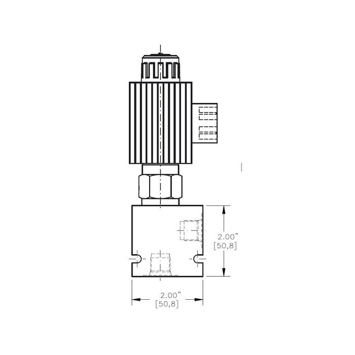 Bucher ESRV-10 Normally Open Solenoid Vented Relief Valve